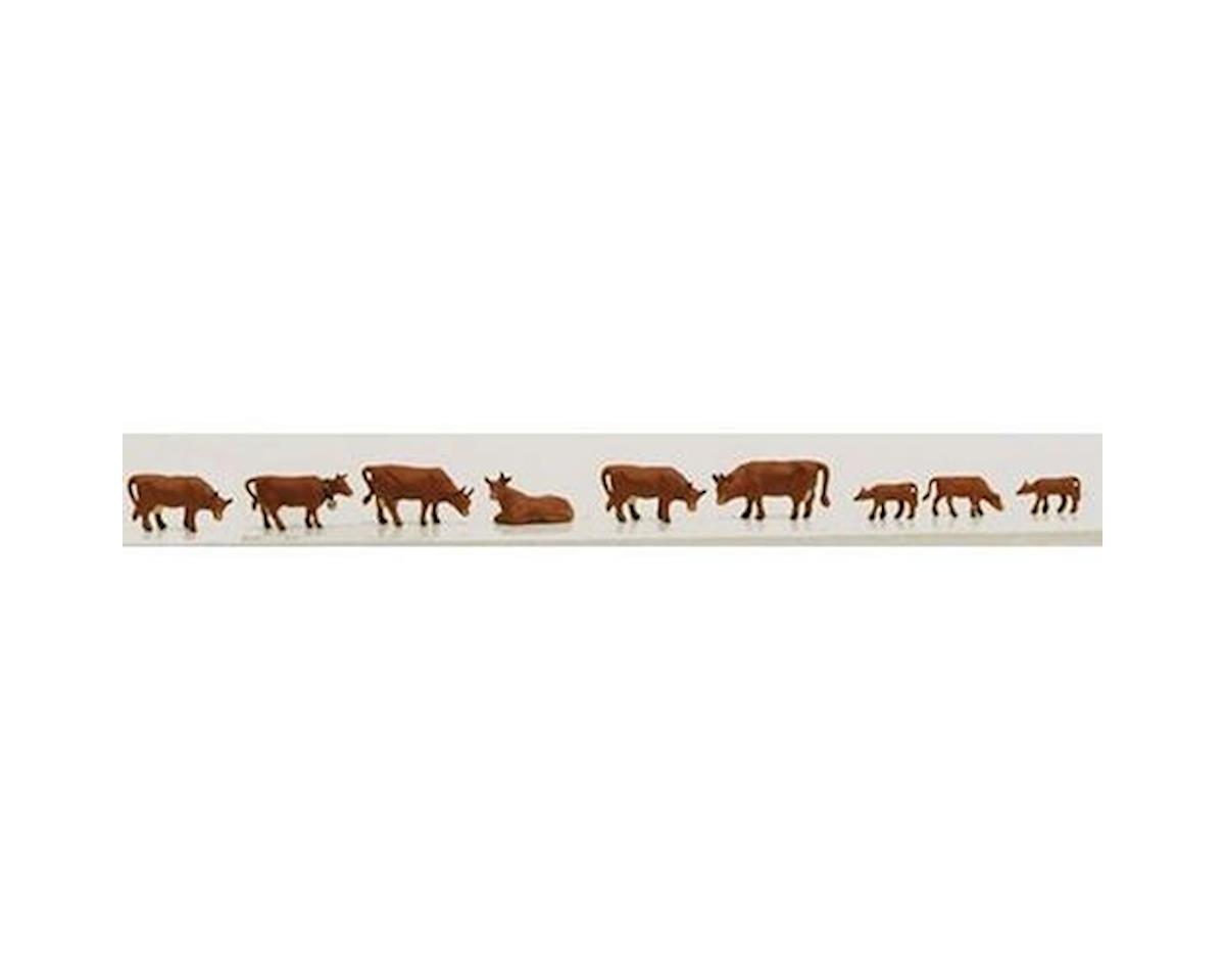 Model Power N Cows & Calves, Brown (9)