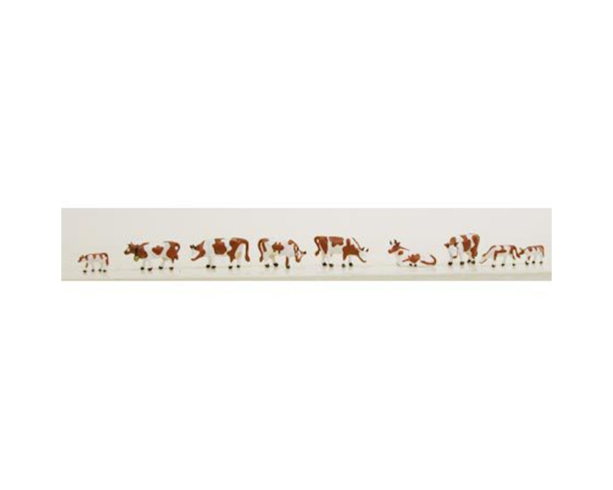 N Cows, Brown/White (9) by Model Power