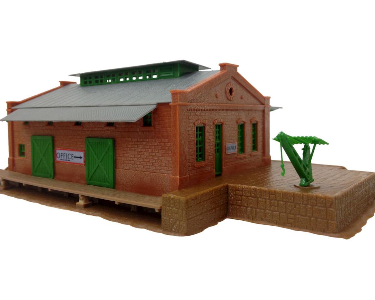 Model Power N KIT Trackside Storage Shed