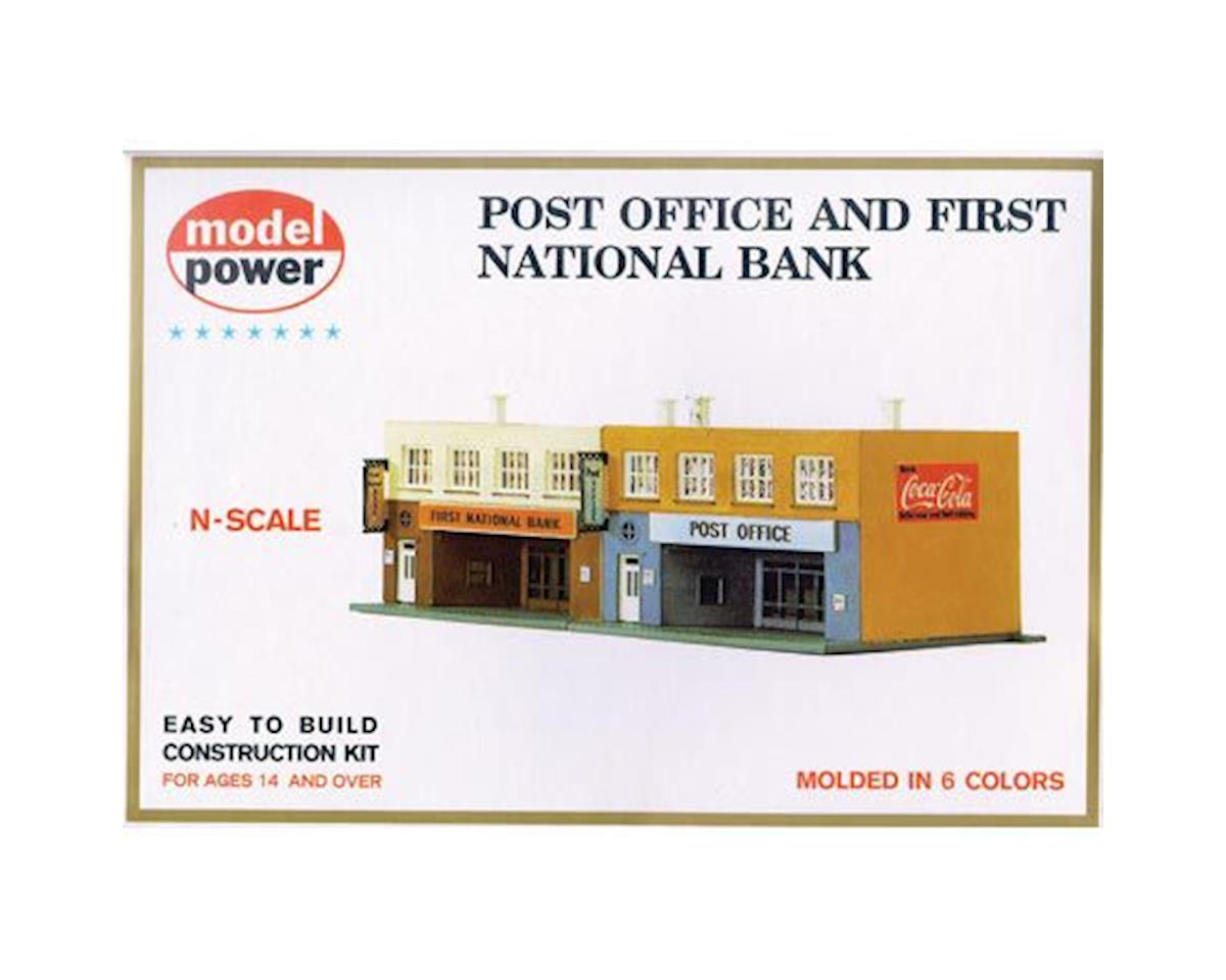 Model Power Post Office & 1st National Bank Kit N