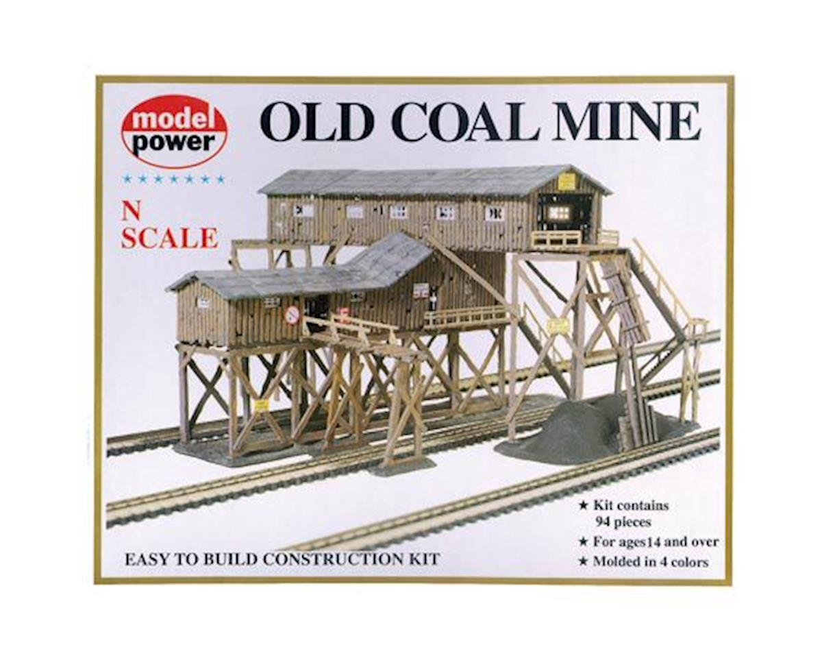 N Old Coal Mine Kit by Model Power