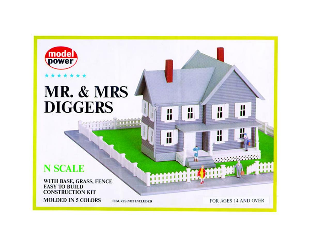 Model Power N KIT Mr & Mrs Diggers House