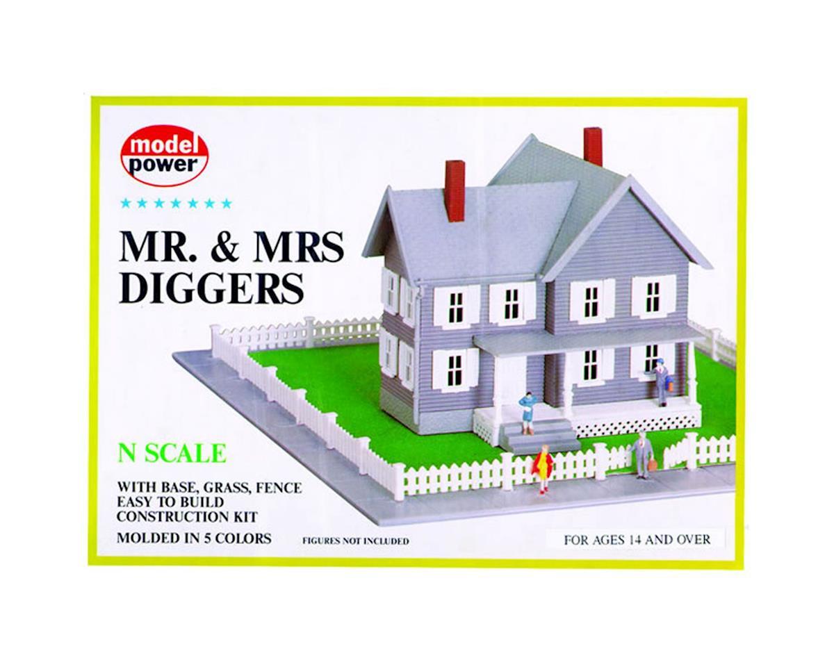 Model Power N KIT Mr & Mrs Diggers House