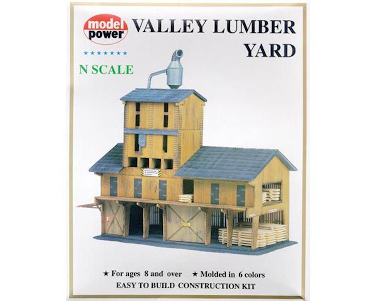 N KIT Lumber Yard by Model Power