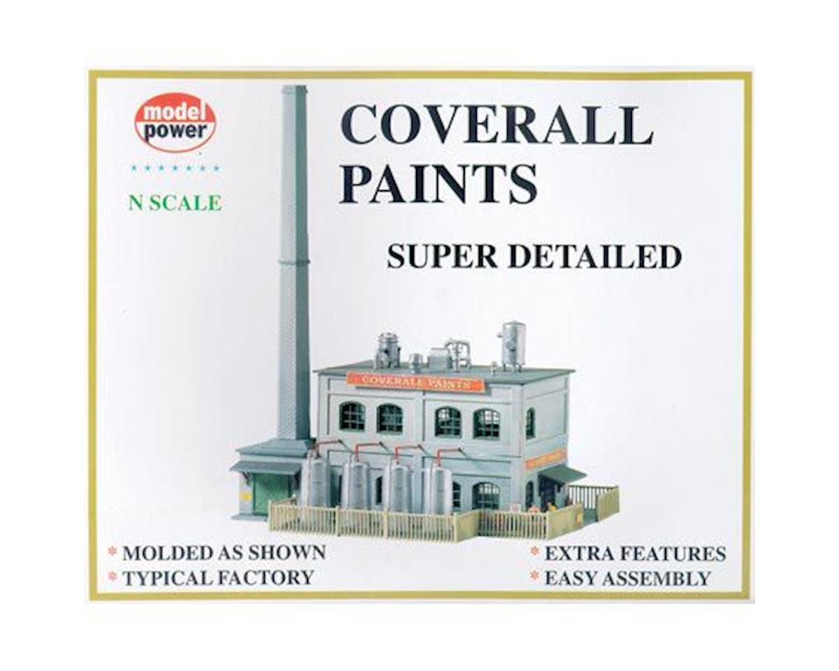 Model Power N KIT Coverall Paints