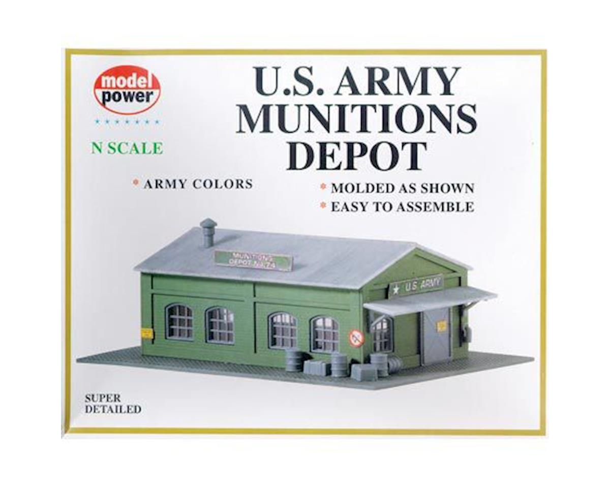 N KIT Army Munitions Depot by Model Power