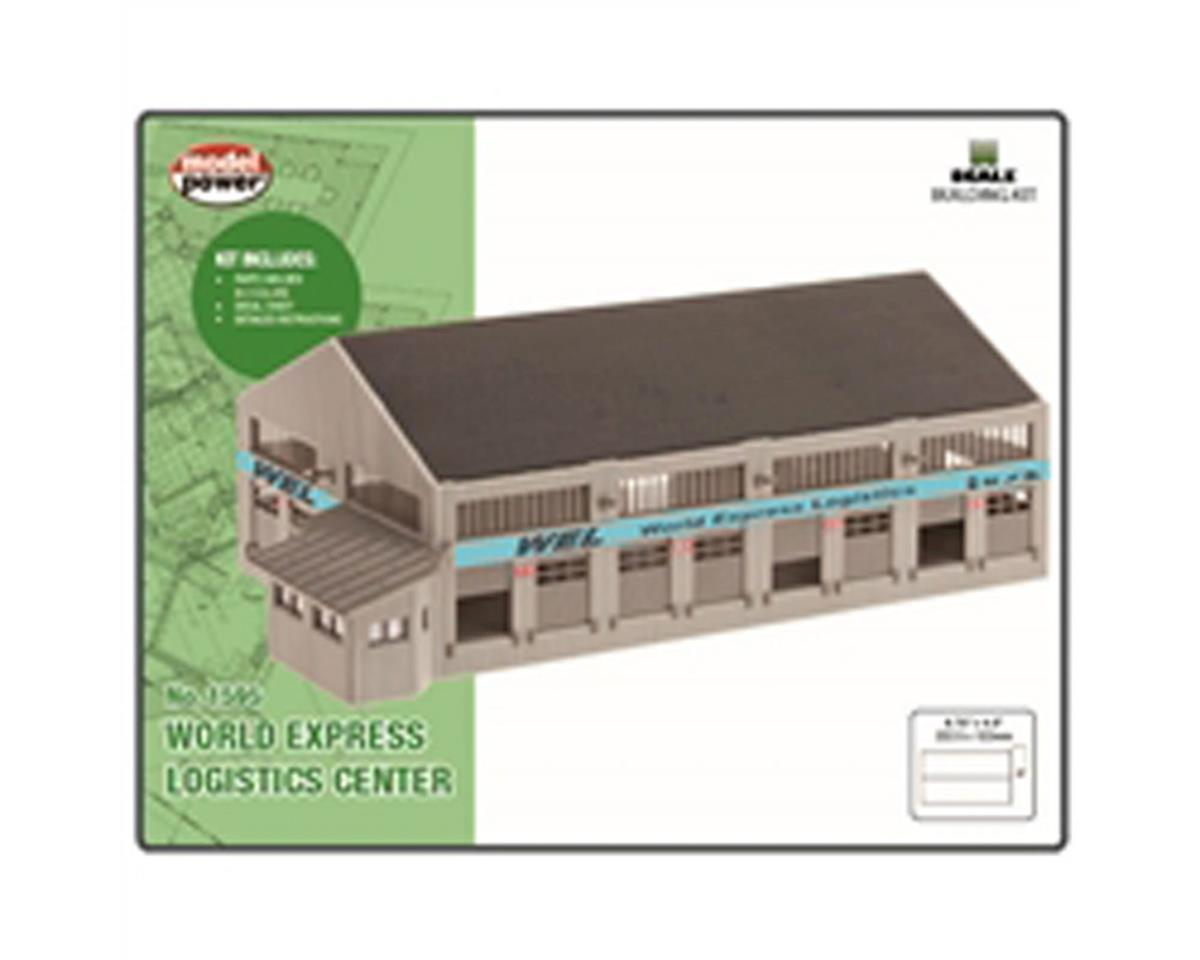 Model Power N KIT World Express Logistics Center