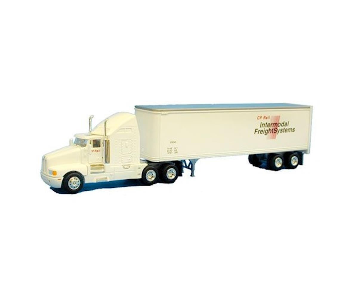 Model Power HO L-Haul Semi/Trailer, CPR/Intermodal