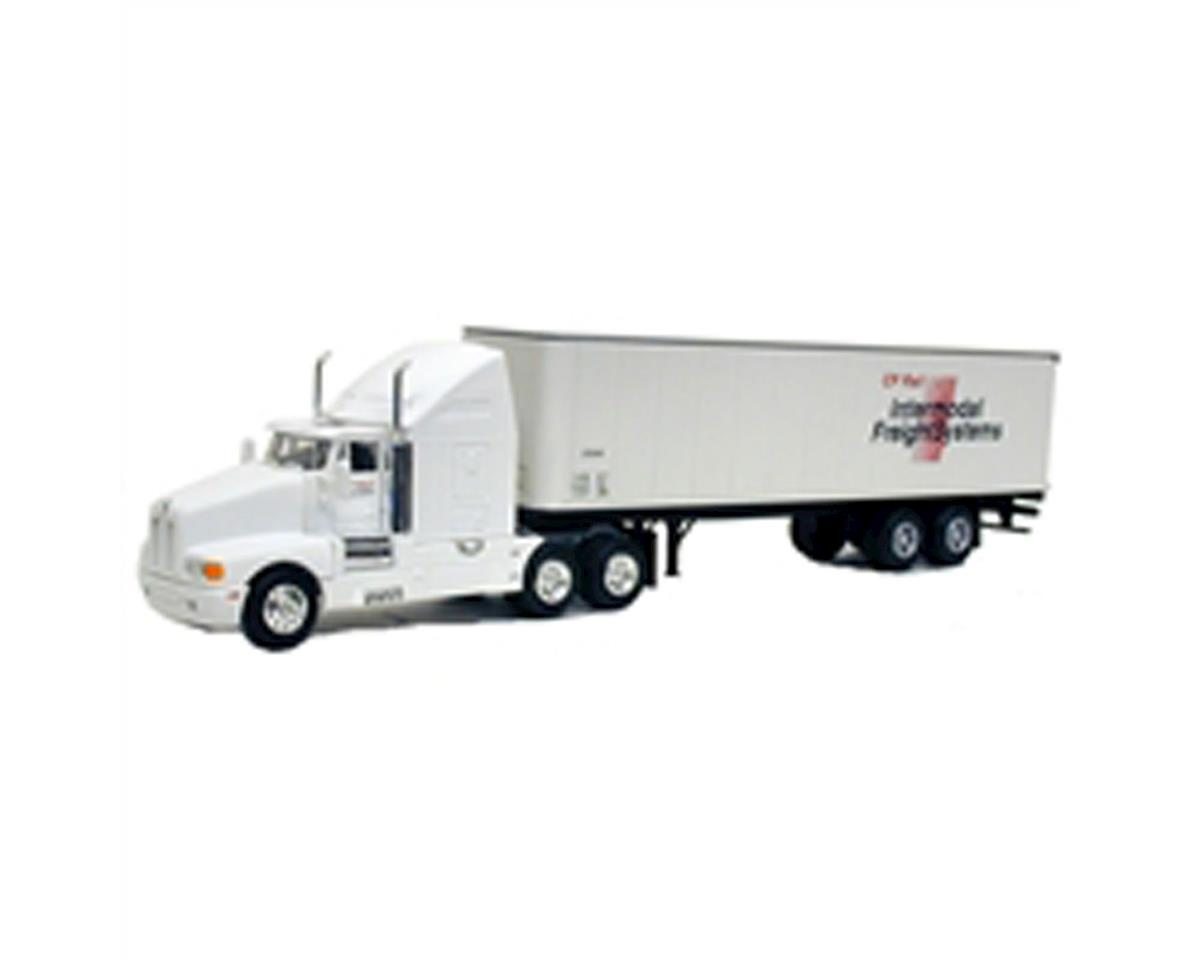 Model Power HO Long Haul Semi/Trailer, Kenworth/CPR