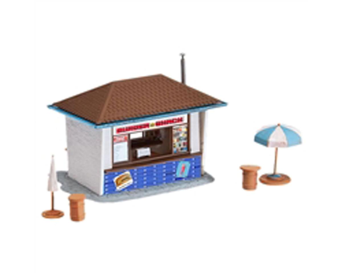 Model Power HO KIT Burger & Shake Stand w/Accessories