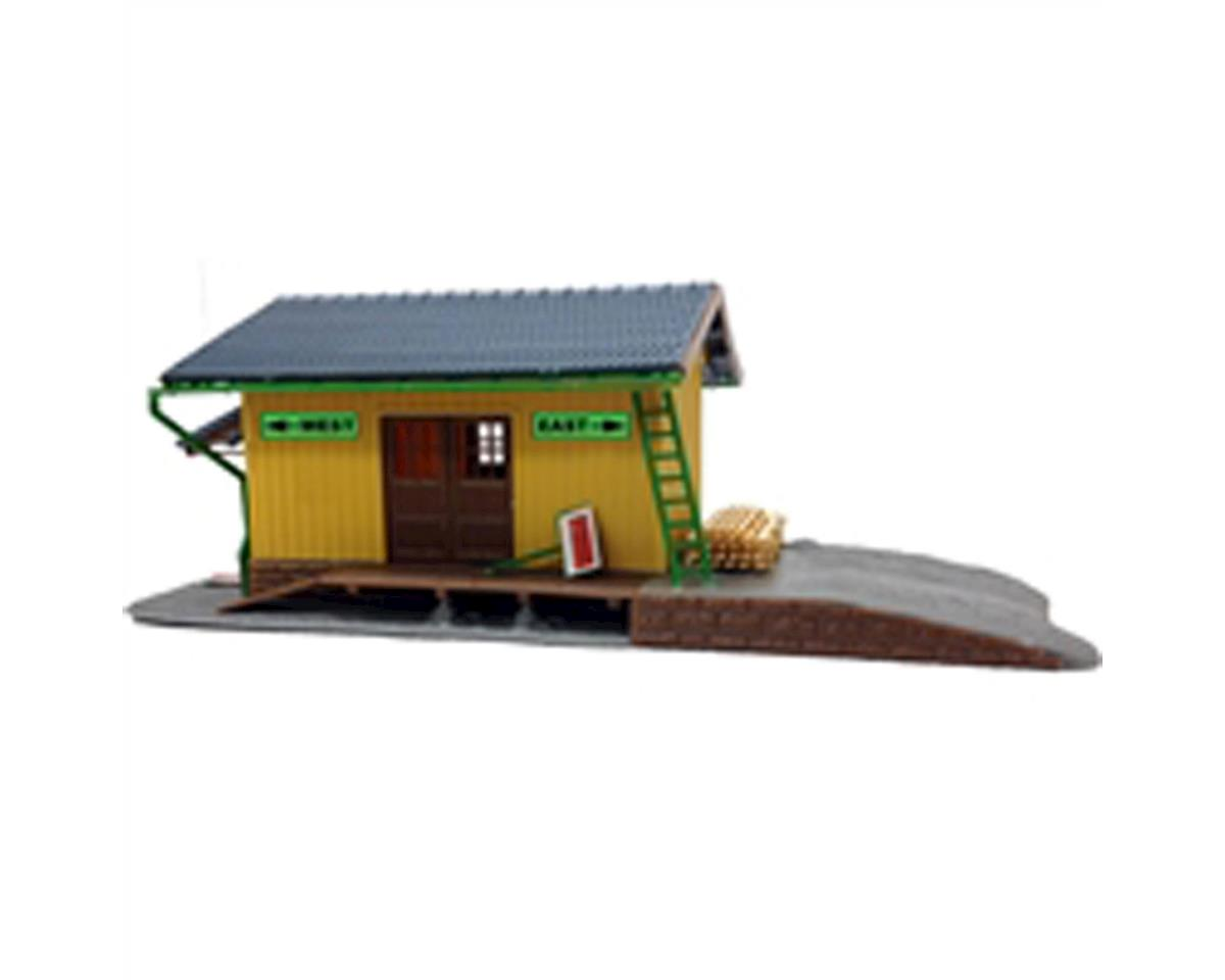 Model Power HO KIT Small Freight Station