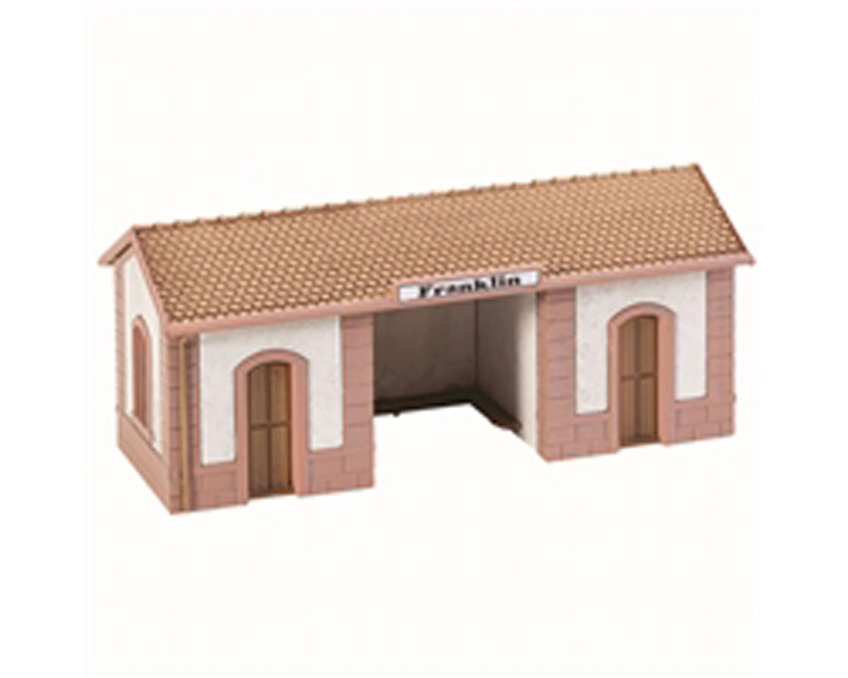 Model Power HO KIT Passenger Wayside Station