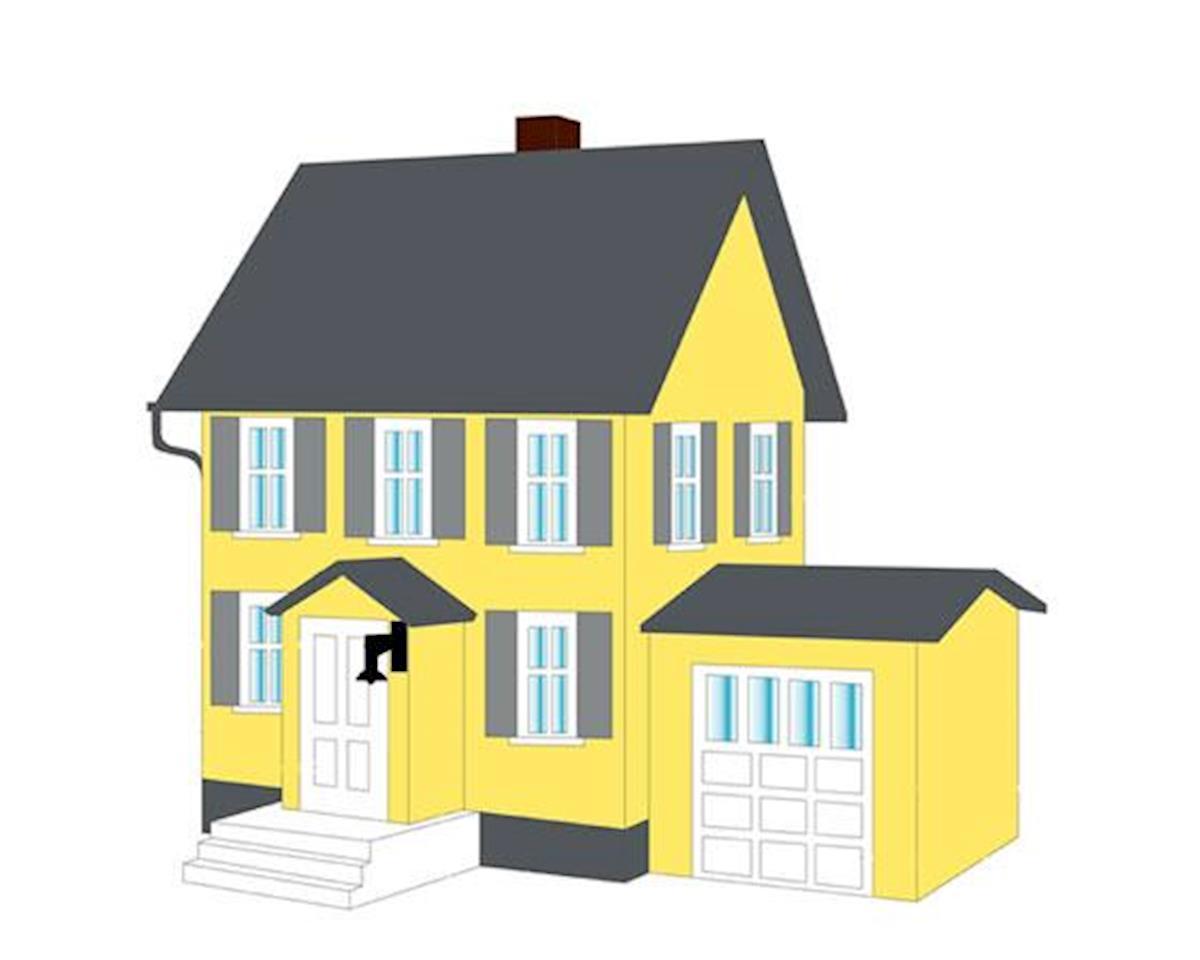 N B/U Benson's House by Model Power