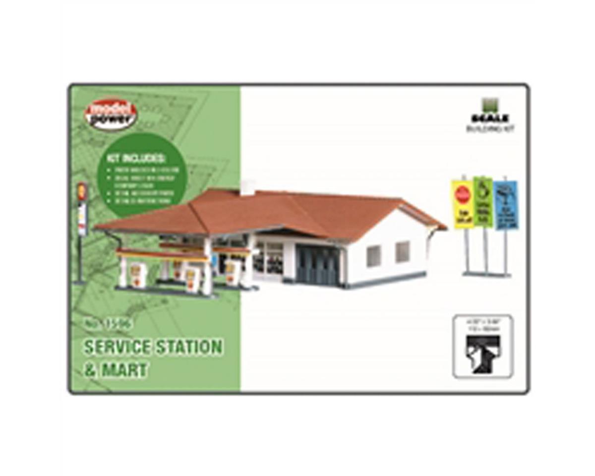 Model Power N B/U Service Station & Mart