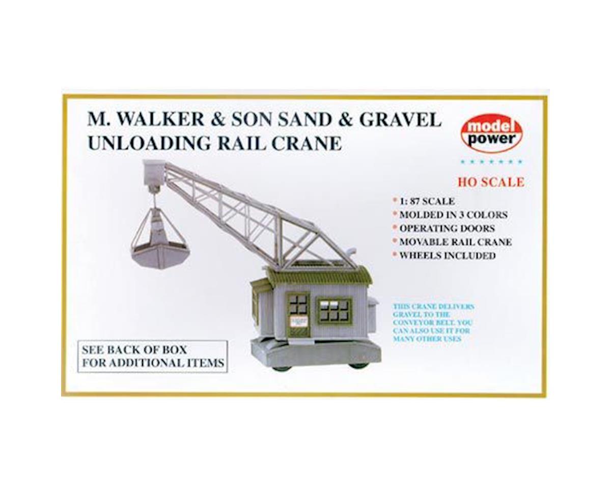 Model Power HO KIT Unloading Rail Crane