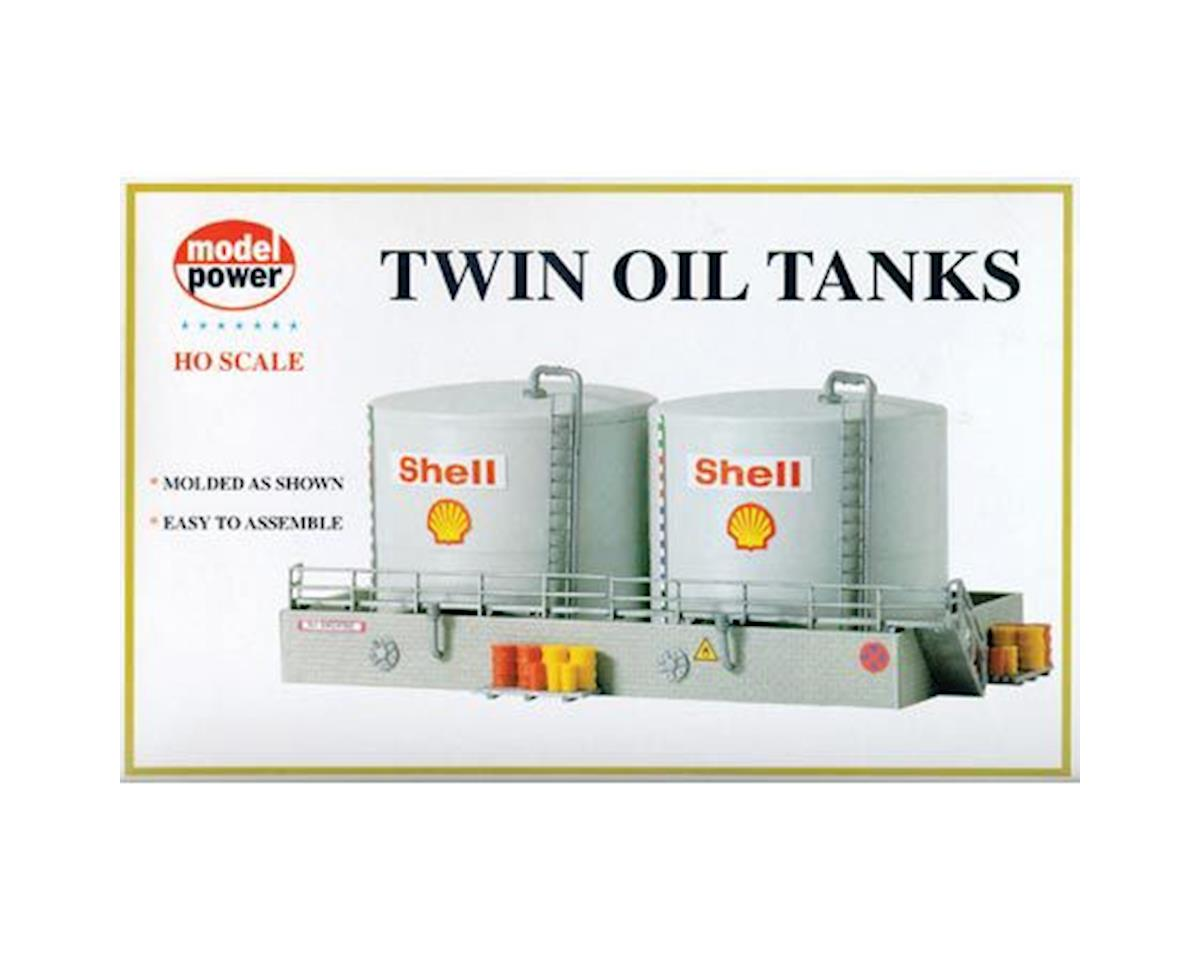 Model Power HO KIT Twin Shell Oil Tanks