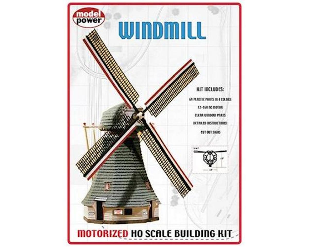 Model Power HO KIT Motorized Windmill