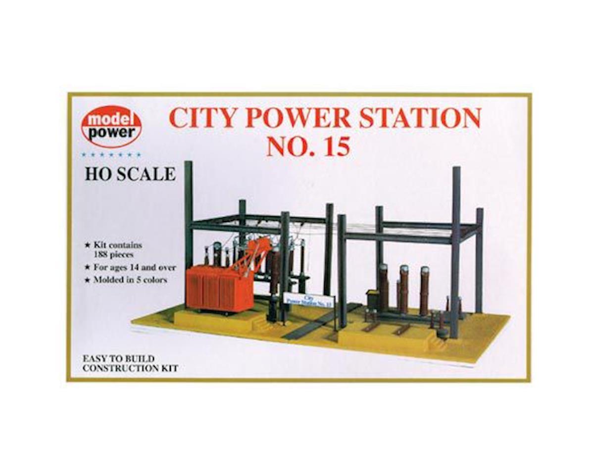 Model Power HO KIT City Power Station #15