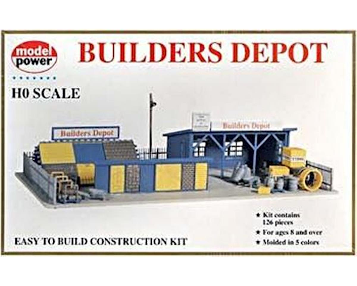 Model Power HO Builders Supply Store Building Kit