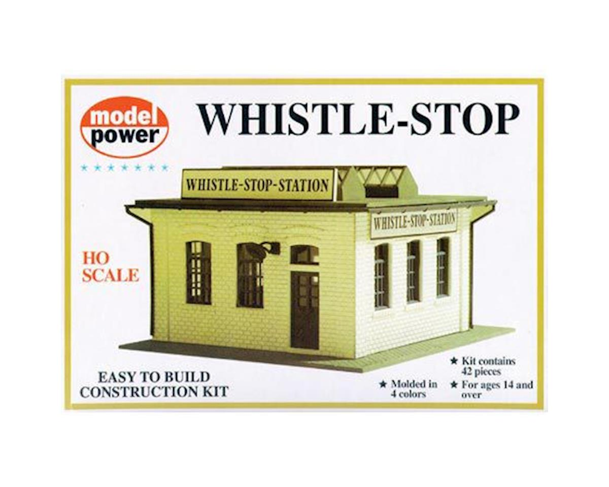 Model Power Whistle Stop Station