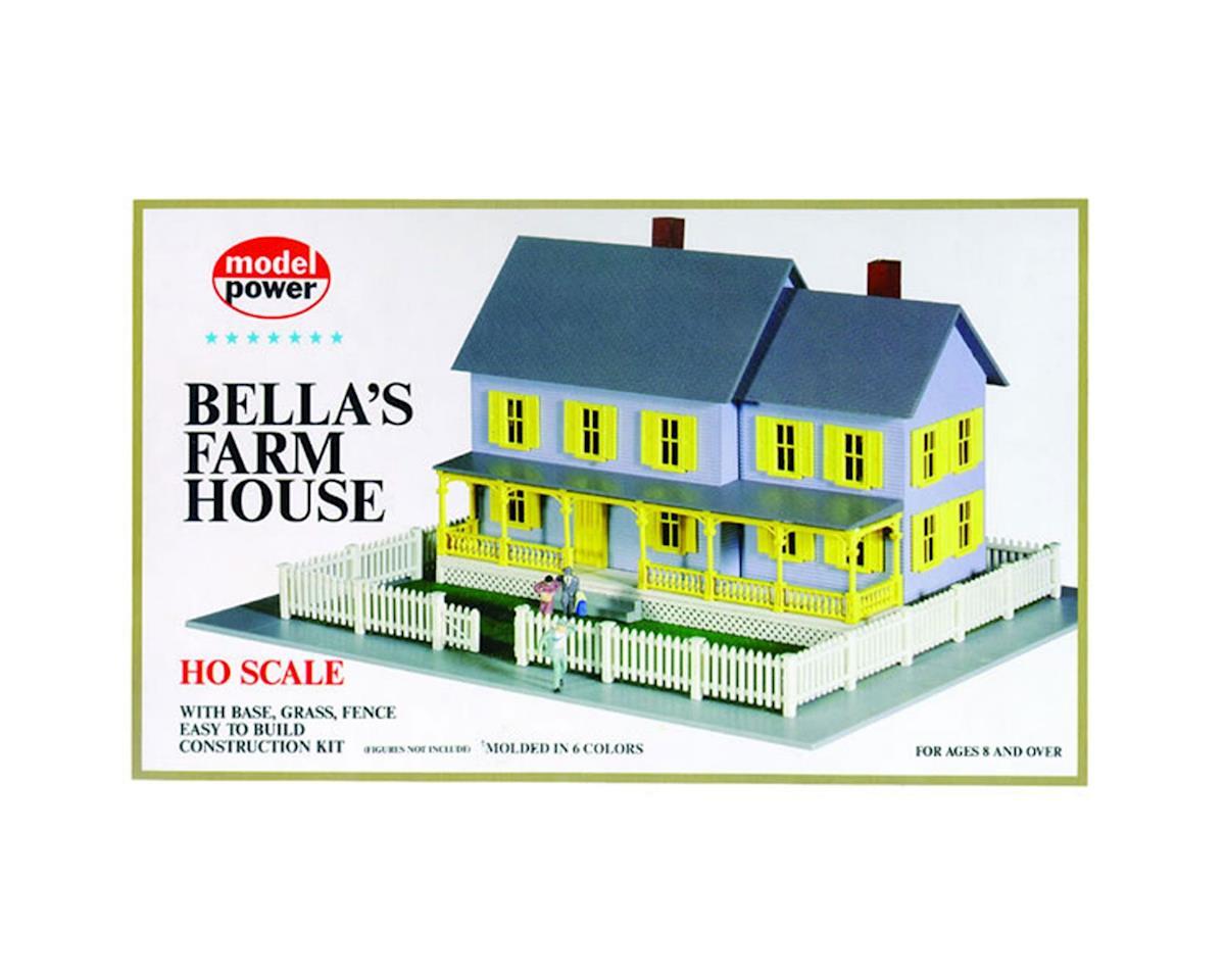 HO KIT Bella's Farm House by Model Power
