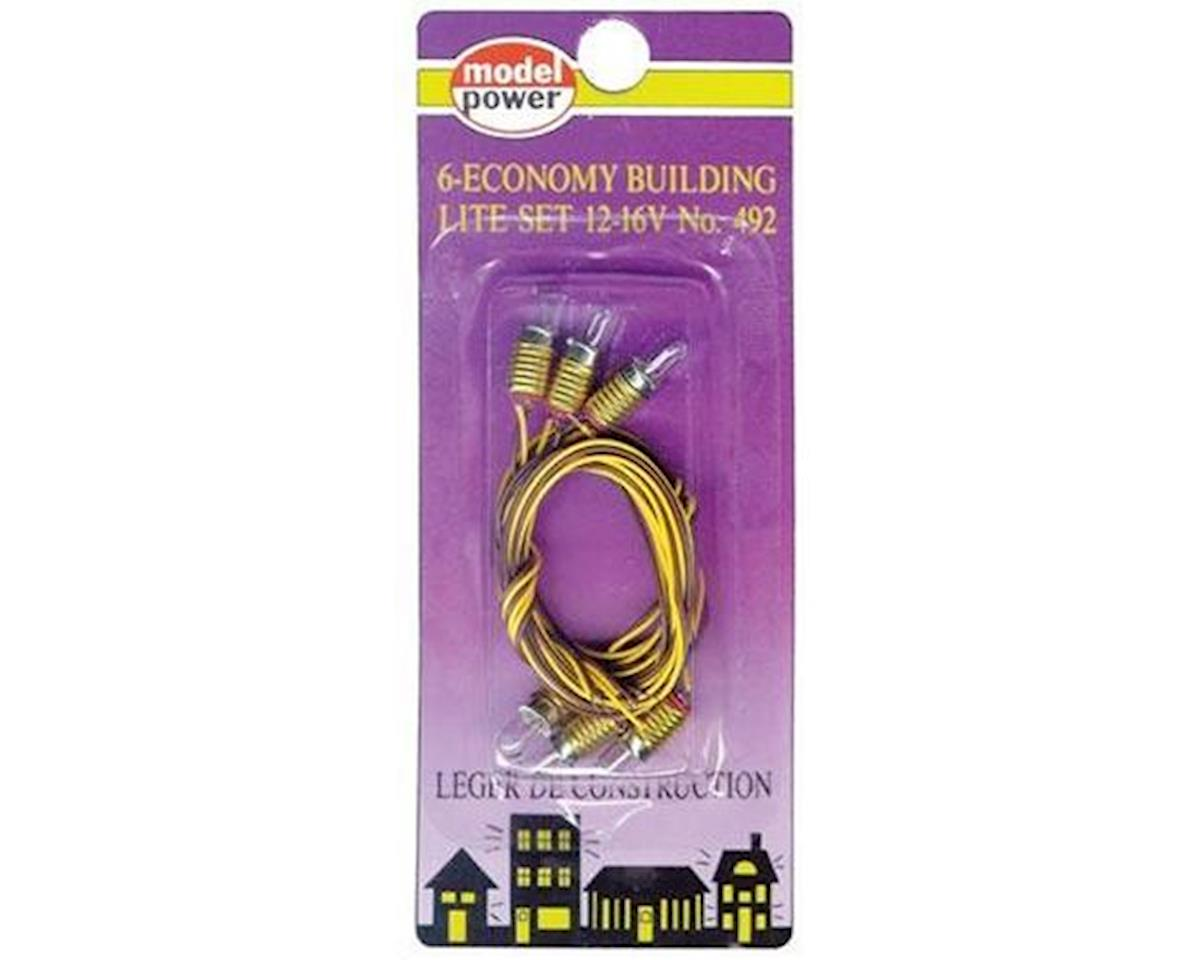 Model Power HO 6 ECO BLDG SCKETS BULB