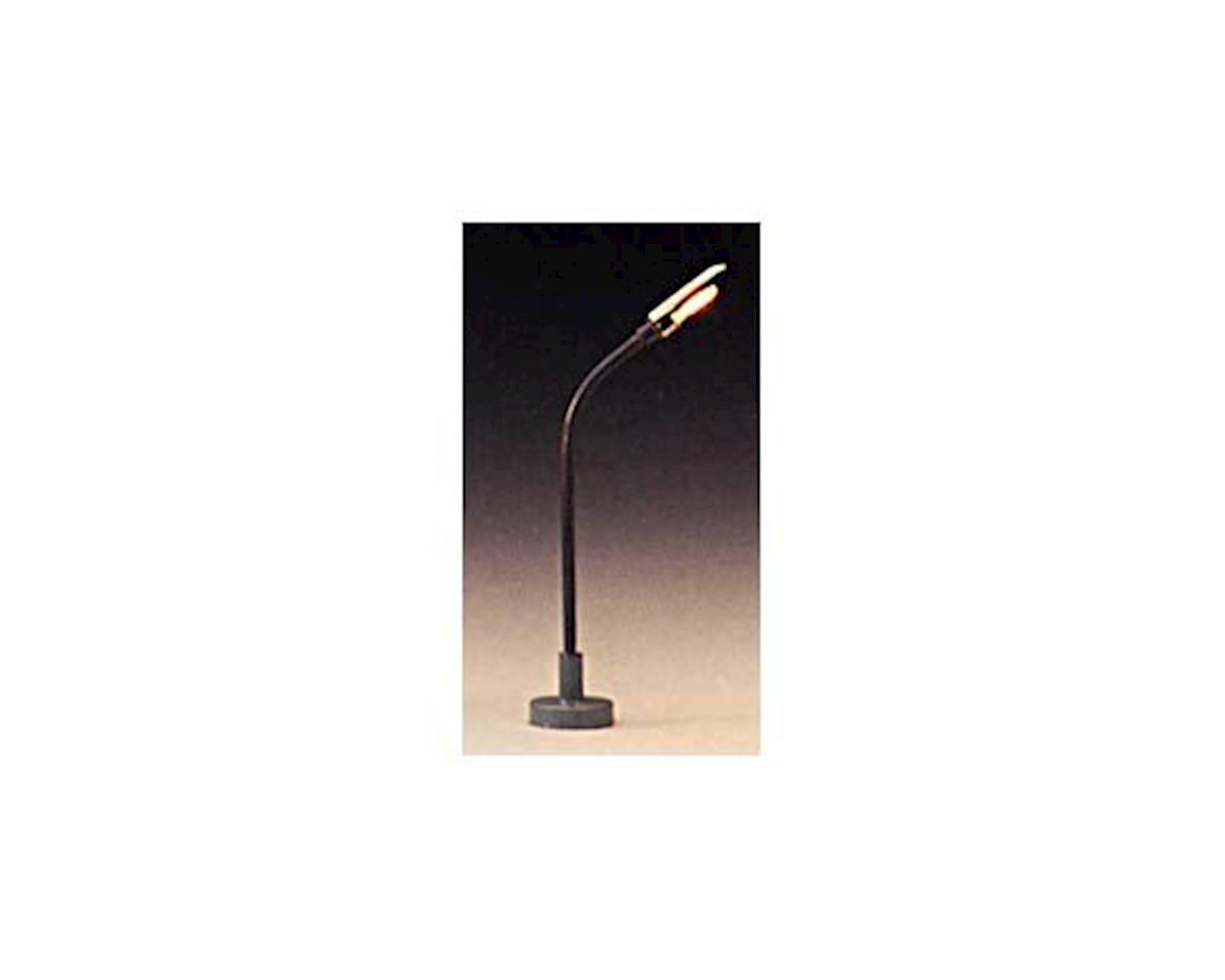 "Model Power HO Single Highway Light, Clear 2"" (3)"