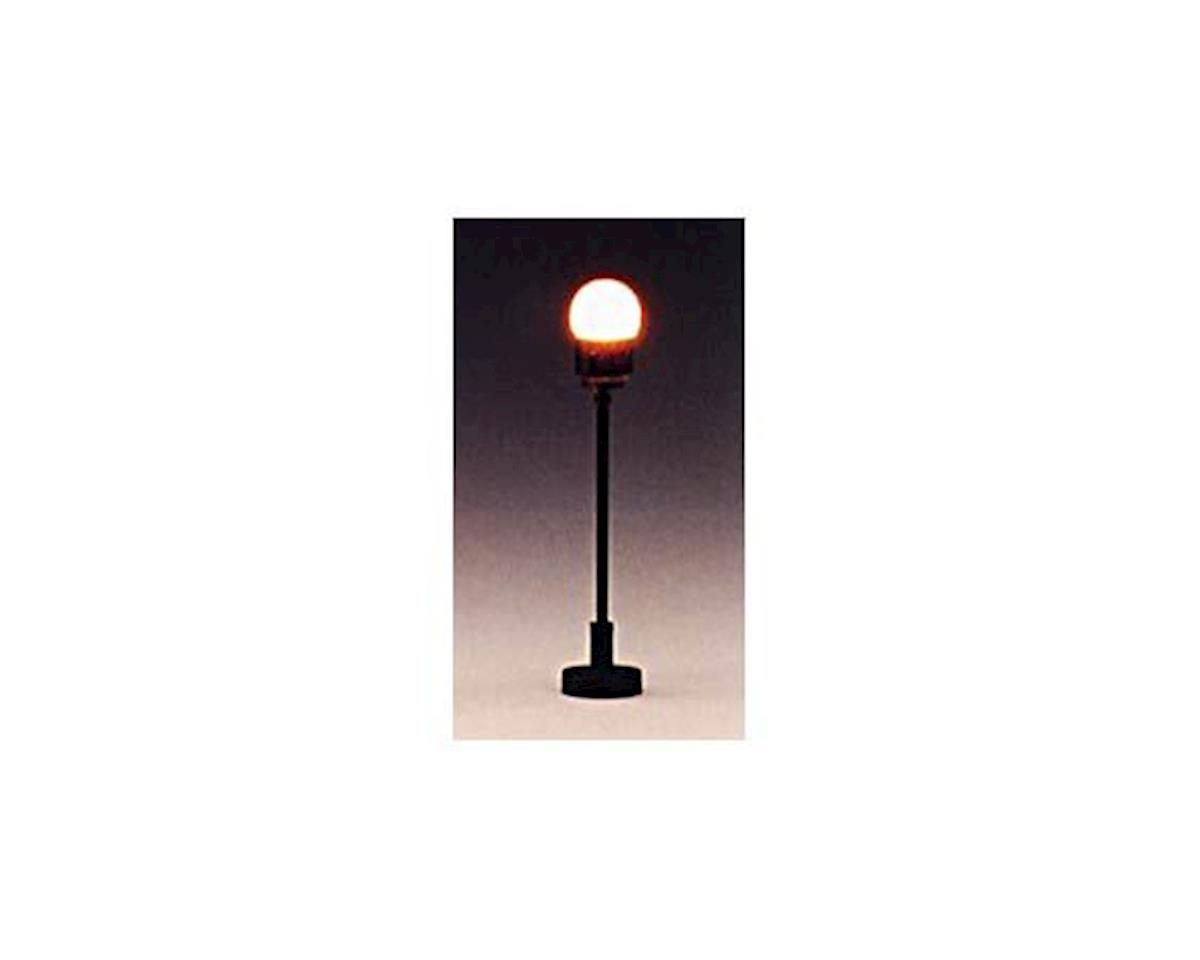 "Model Power HO Globe Lamp, Clear 2"" (3)"