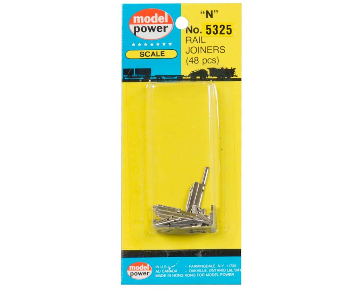 Model Power 5325 Rail Joiners 48pcs/Card N