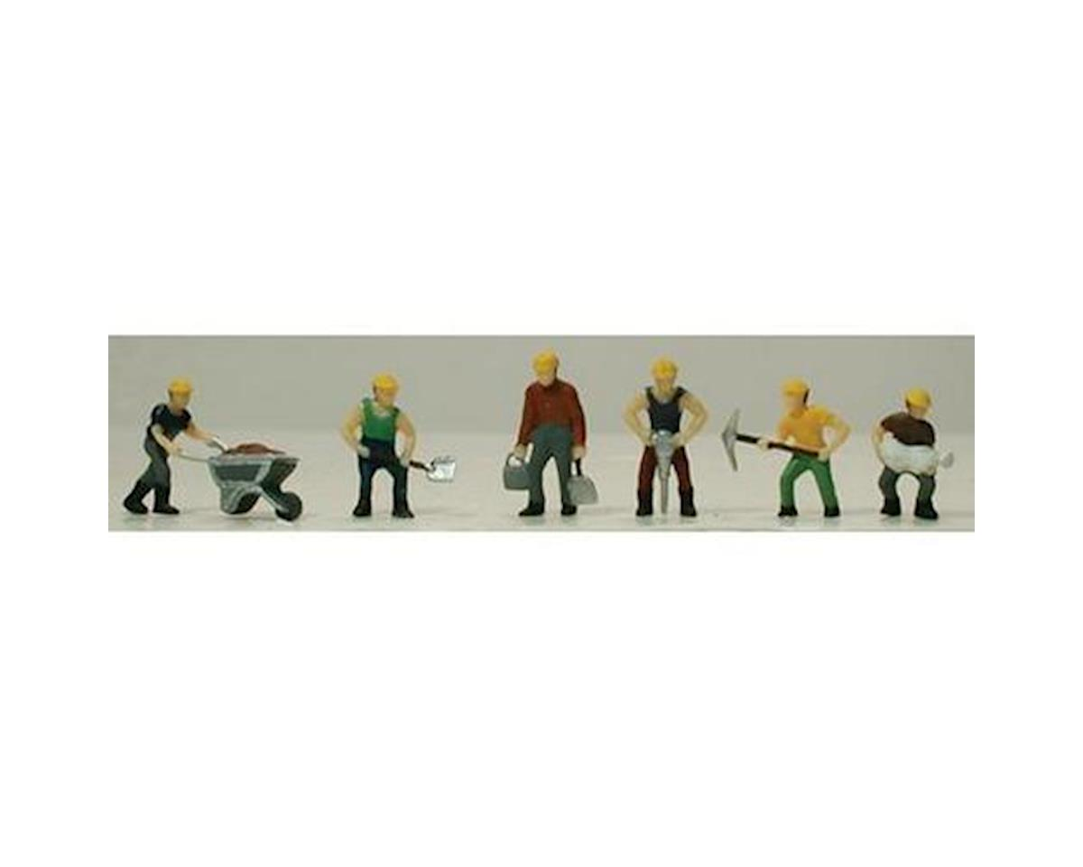 HO Track Laying Crew (Painted) by Model Power