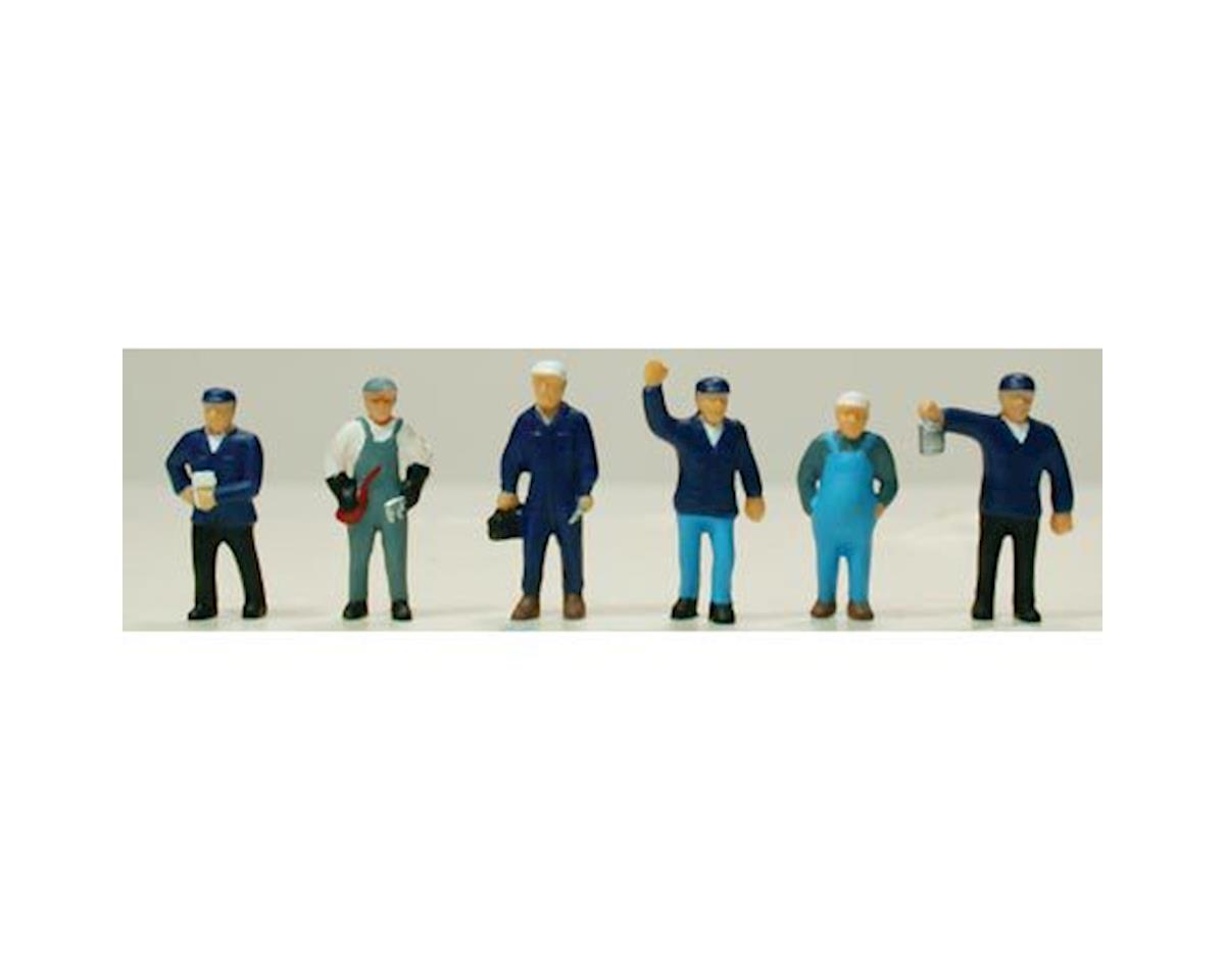 Model Power HO Train Crew (6)