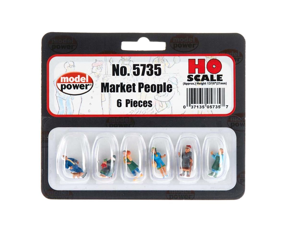 5735 Market People HO by Model Power