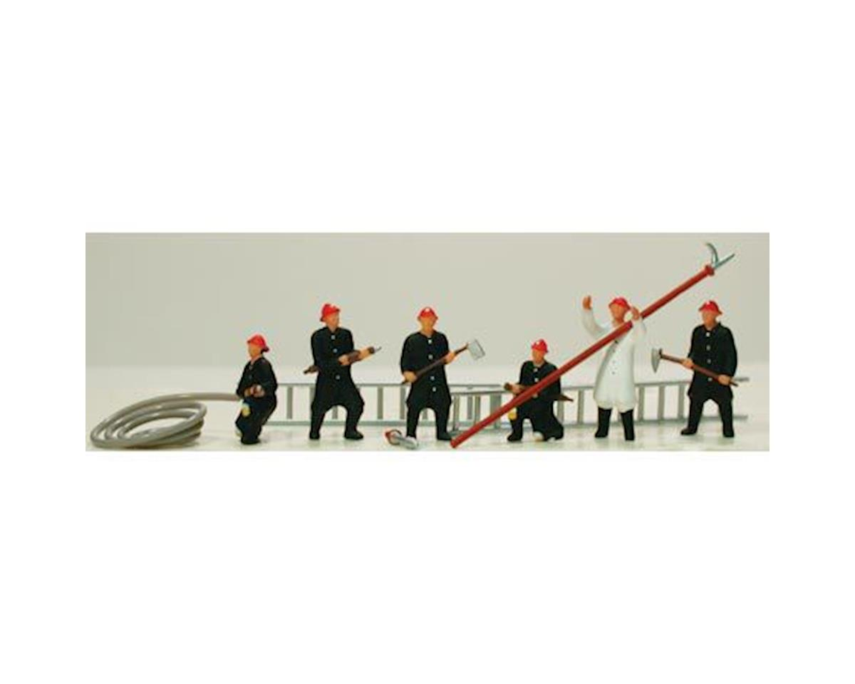 Model Power HO Firemen (6)
