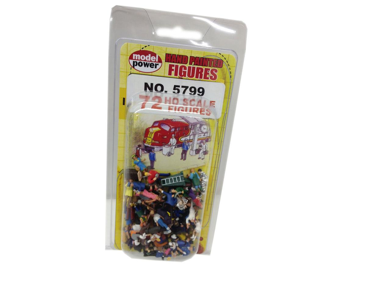 Model Power HO Figures, Painted (72)