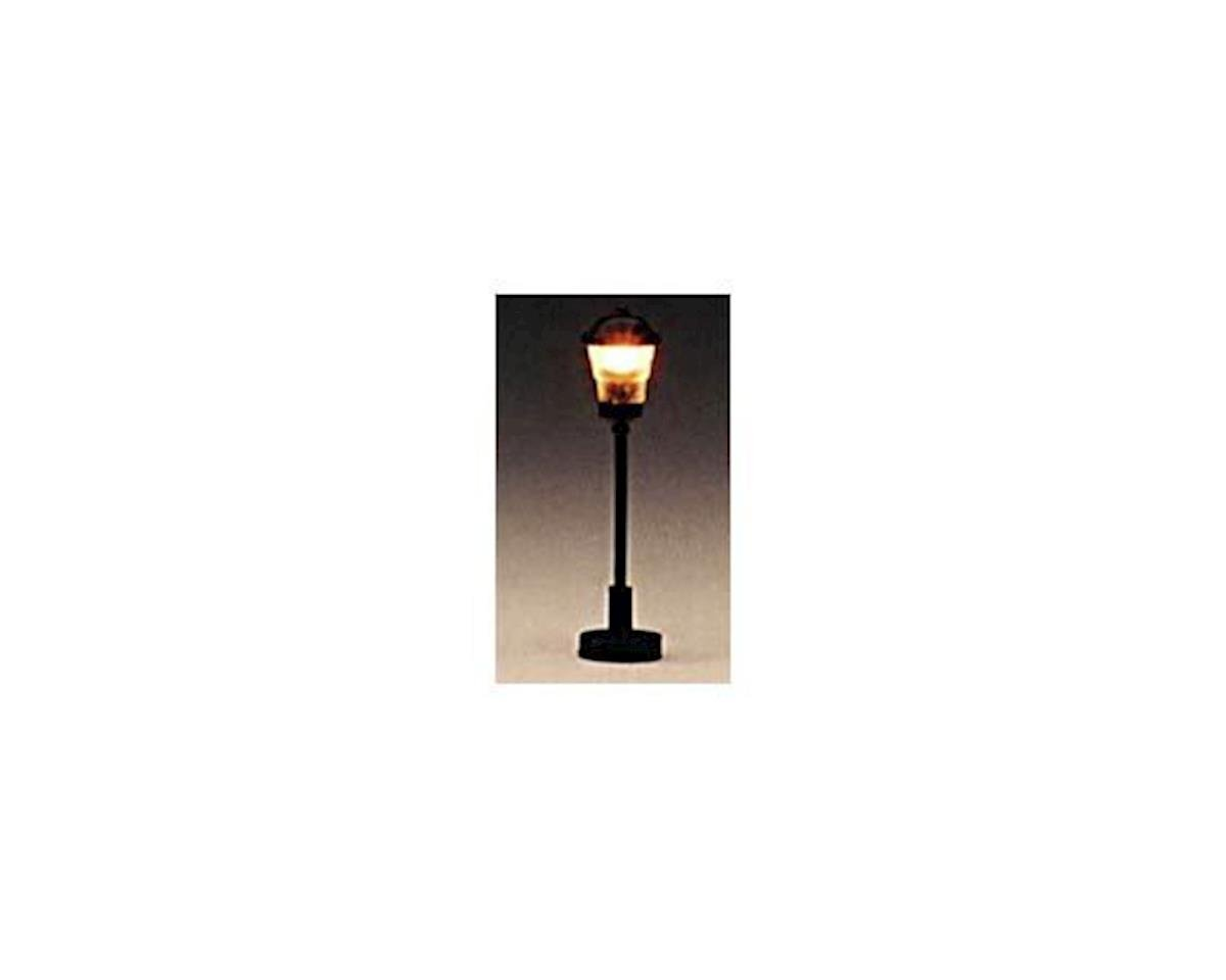 "Model Power HO Suburban Lamp, Clear 1.5"" (3)"