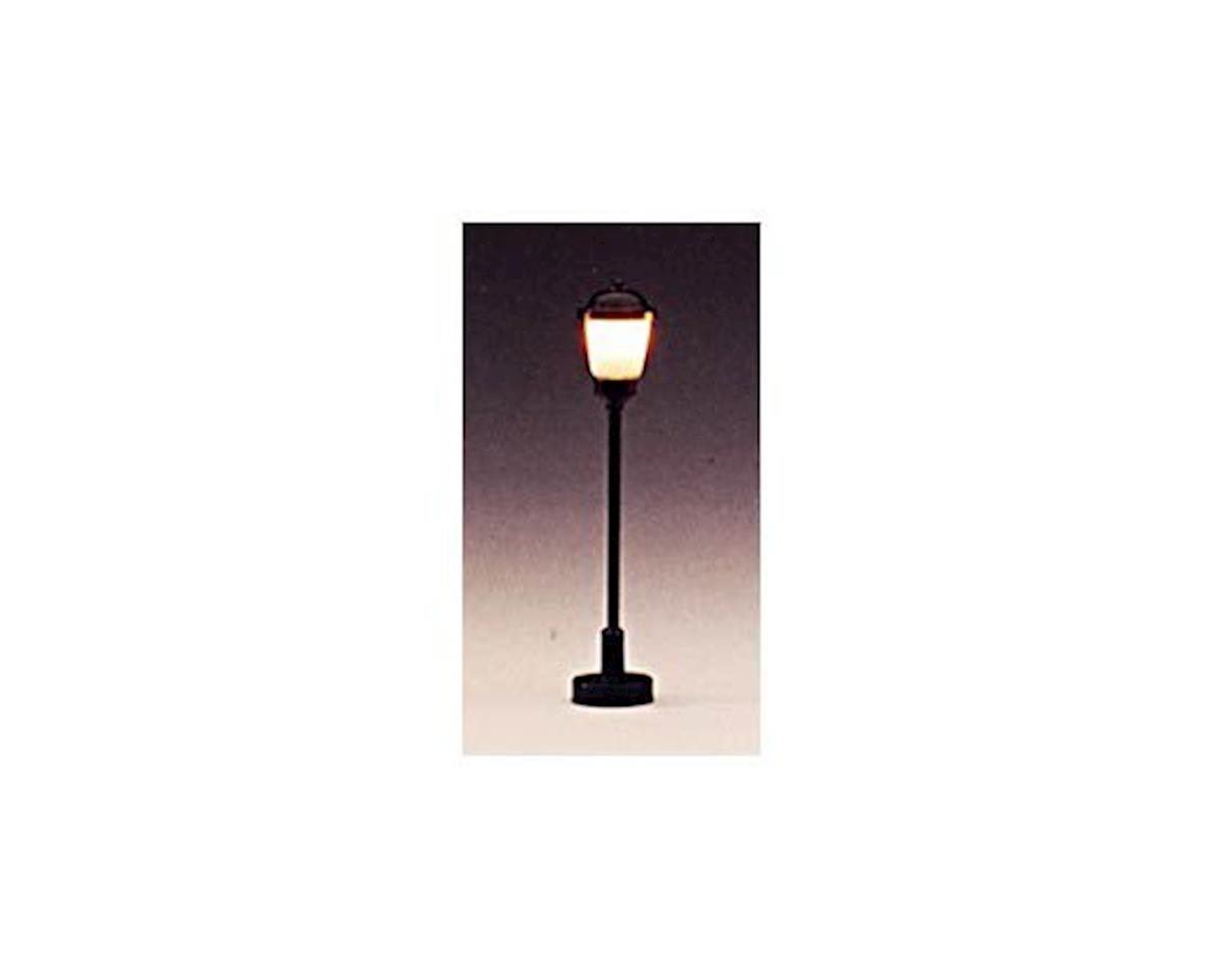 "2"" HO-Scale Boulevard Light w/Round Top (Frosted) (3)"