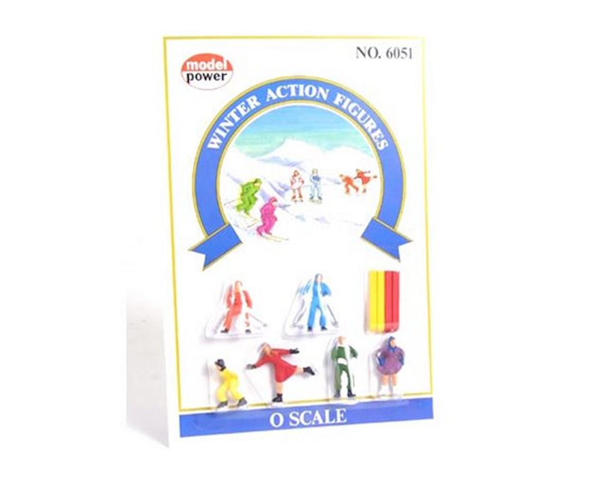 Model Power Winter Action Figures (6) O