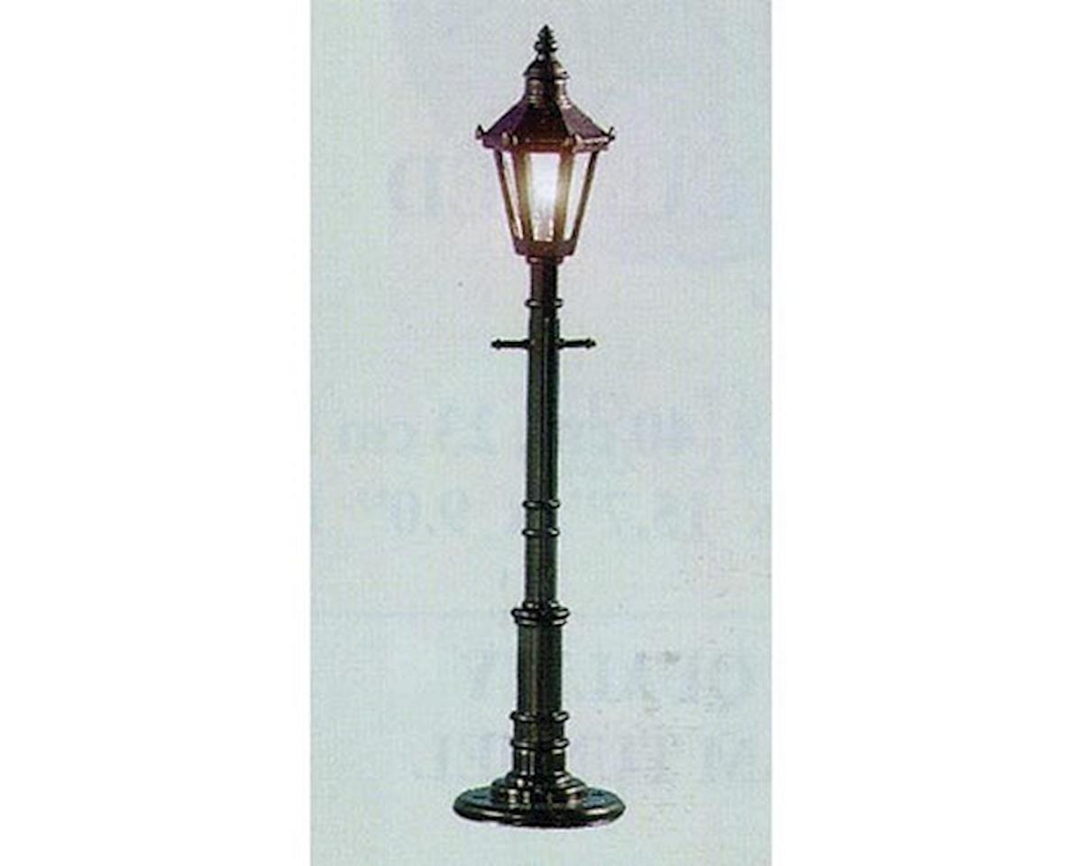 O Old Time Gas Lamp Post, Frosted/Gray (3)