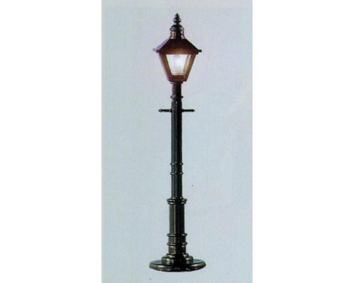 Model Power O Old Time Gas Lamp Post, Square/Gray (3)