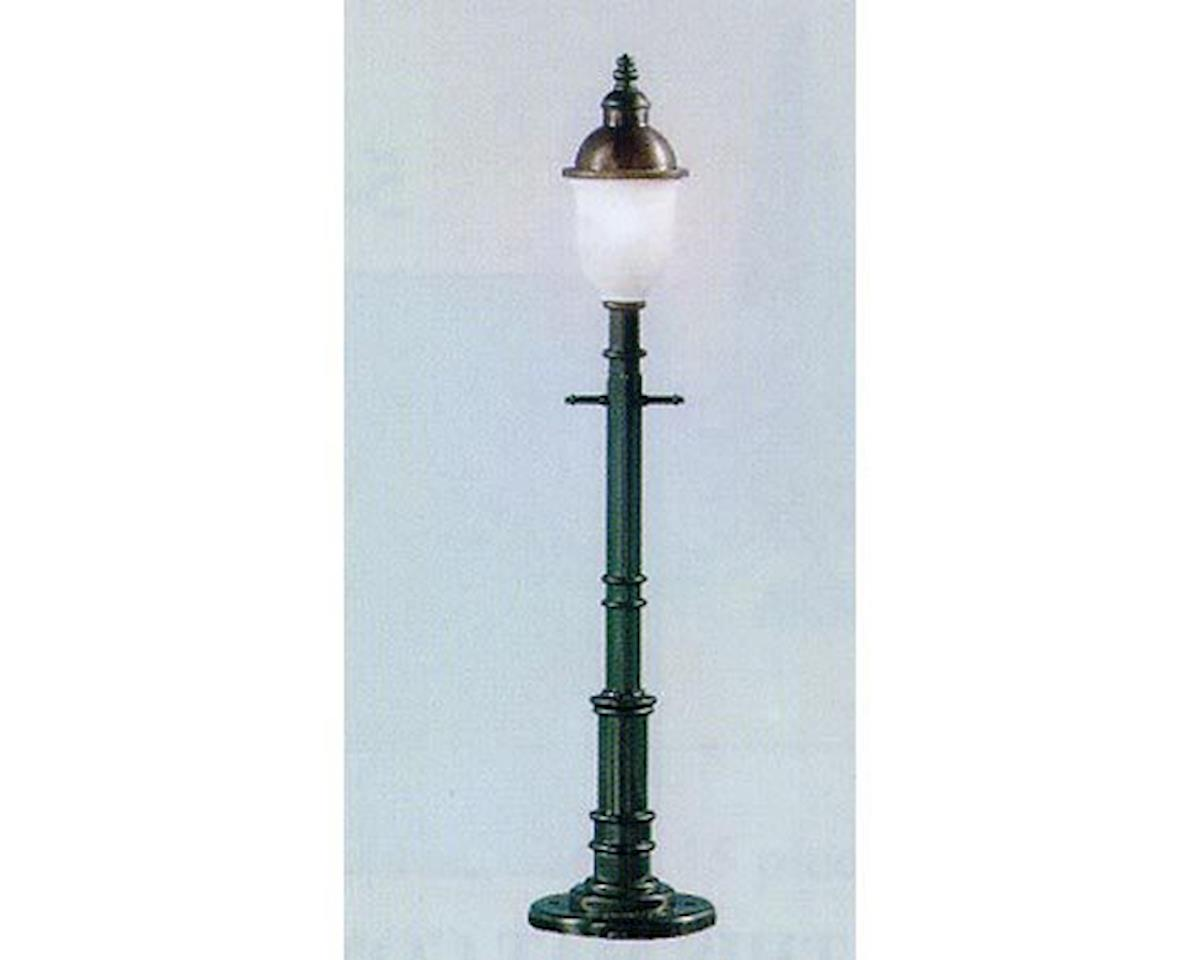 Model Power O Old Time Lamp Post, Frosted/Round/Green (3)