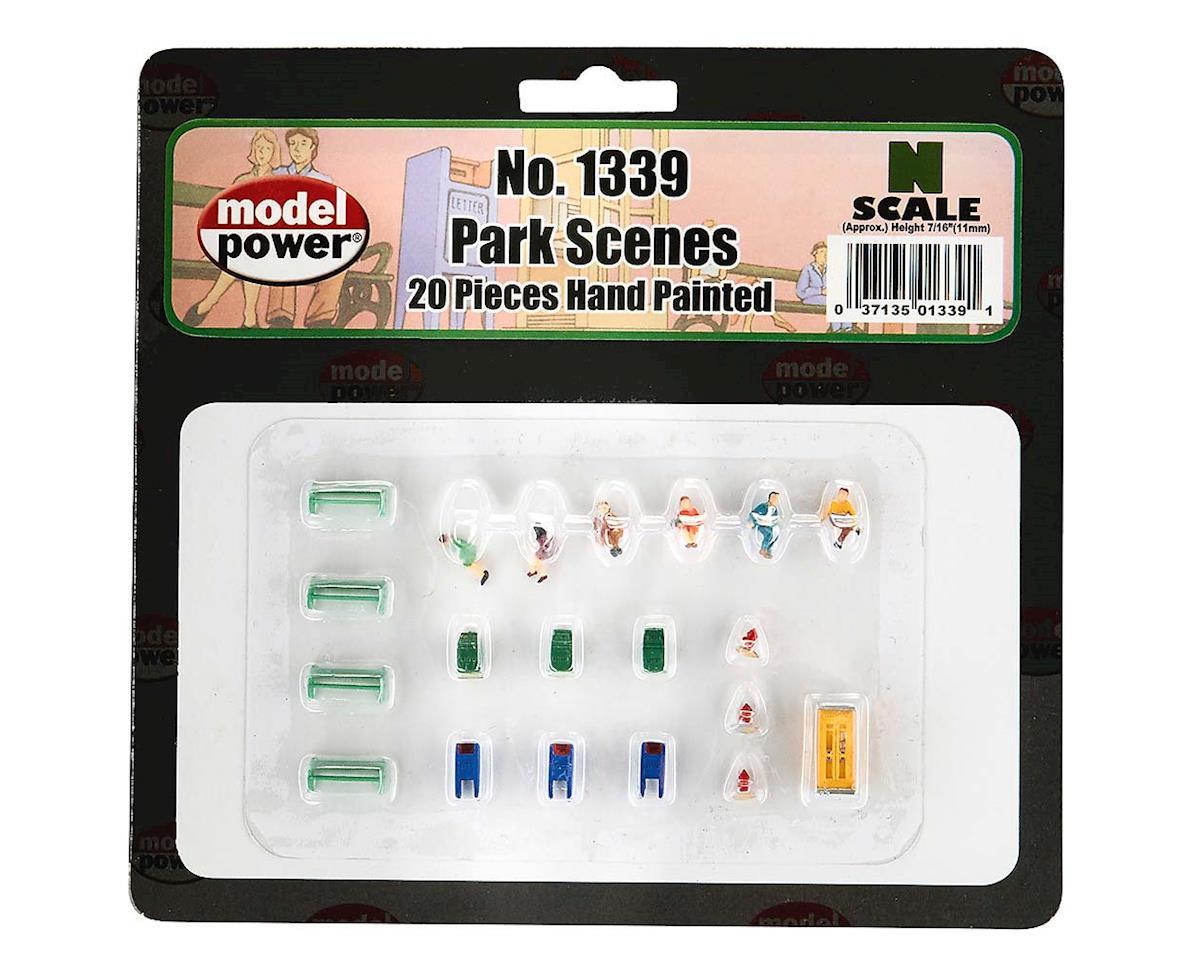 Model Power 61339 Park Scene (20pcs)