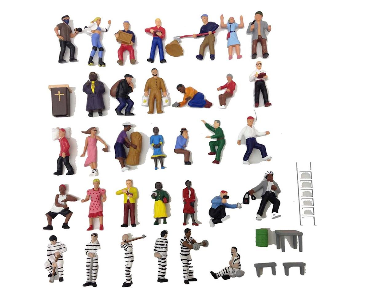Model Power 6299 Painted Figures (36) O
