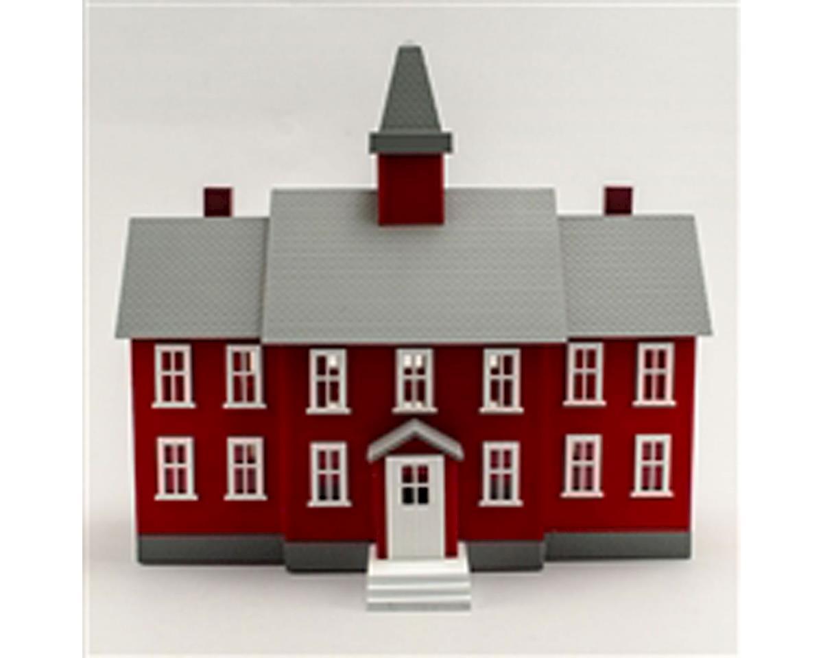 Model Power O B/U Little Red School House