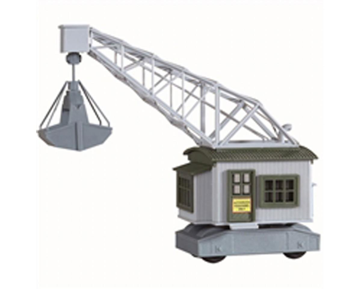 Model Power HO B/U Walker & Son Sand & Gravel Rail Crane