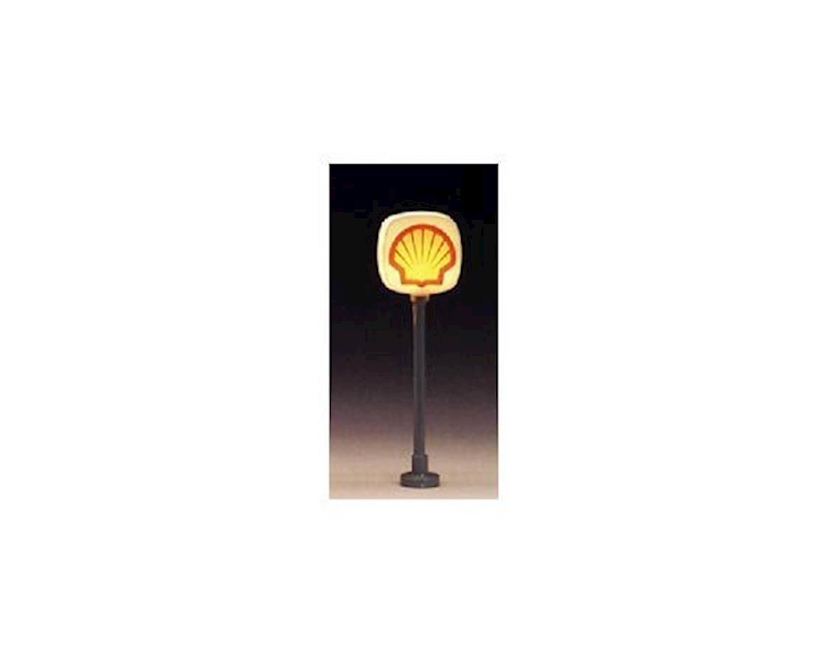 Model Power HO Lighted Signs, Shell (2)