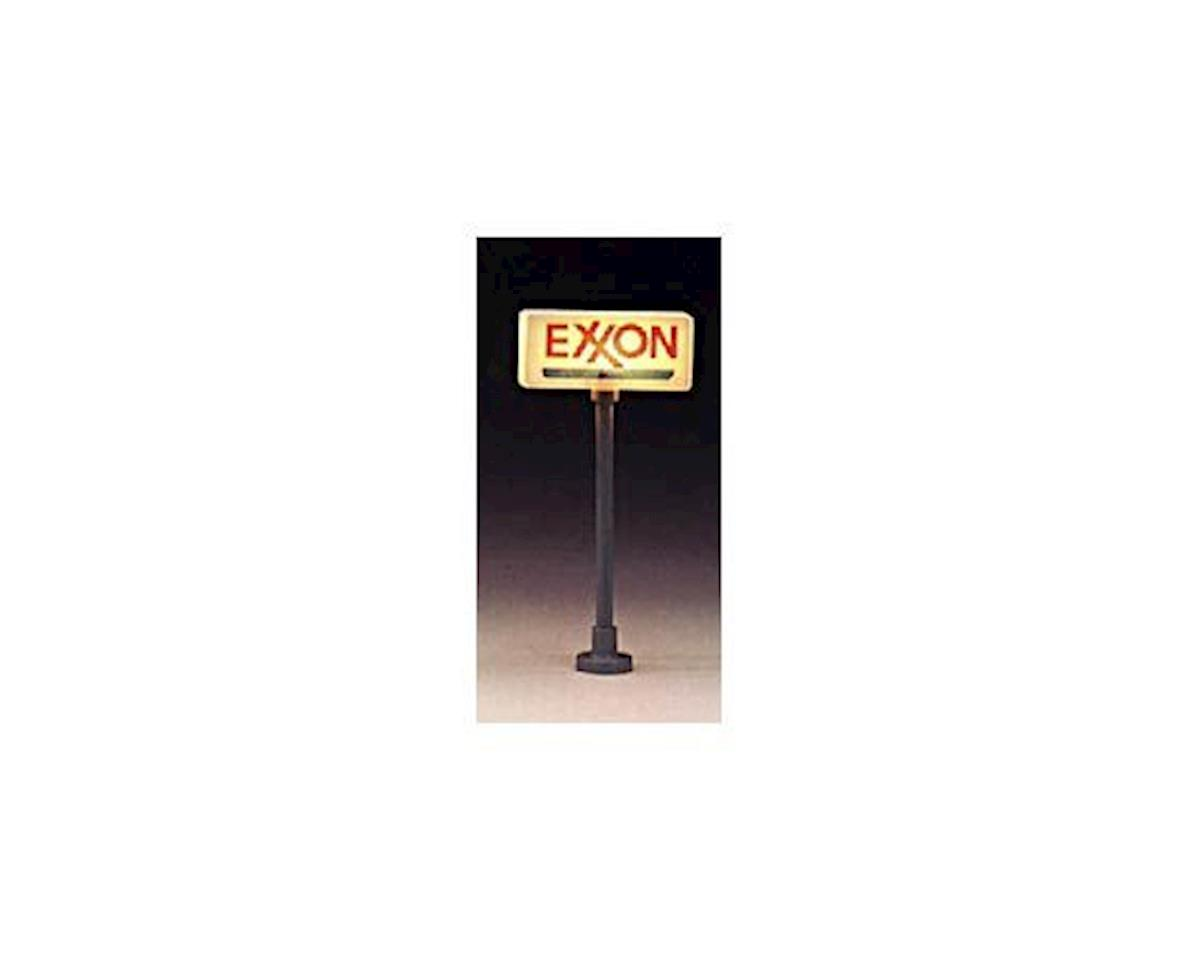 Model Power Station sign Exxon