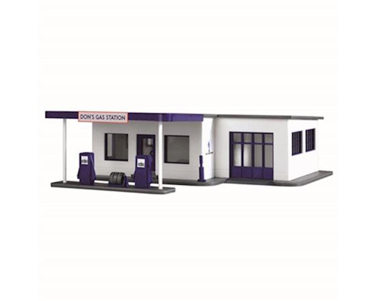 HO B/U Don's Gas Station by Model Power