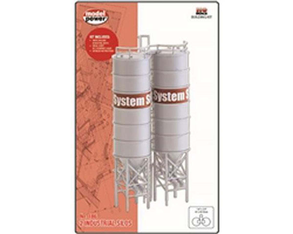 Model Power HO B/U Industrial Silos (2)