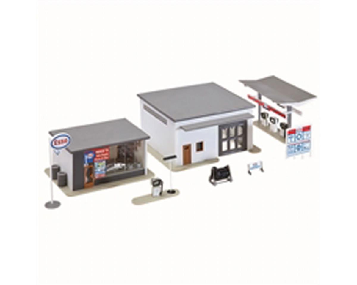 Model Power HO B/U Mike's Gas, Auto Supply & Wash