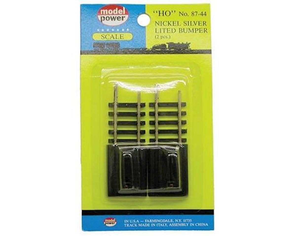 Model Power HO NS Bumpers, Lighted (2)